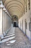 Arcade van Chiostro Grande Royalty-vrije Stock Afbeeldingen