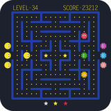 Arcade video game concept. Royalty Free Stock Photo