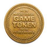 Game Token Stock Image