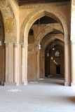 Arcaded korridor Arkivbilder