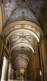 Arcades à Bologna, Italie Image stock