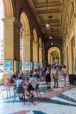 Arcades εκτός από την πλατεία Repubblica στη Φλωρεντία, Ιταλία Στοκ Φωτογραφίες