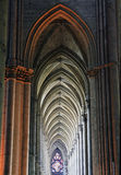 arcades καθεδρικός ναός γοτθι&k Στοκ Φωτογραφίες