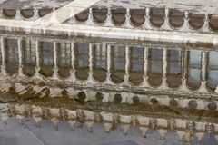 Arcades της πρόσοψης στην πλατεία SAN Marco στη Βενετία, Ιταλία Στοκ Φωτογραφίες