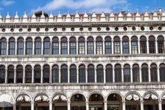 Arcades της πρόσοψης στην πλατεία SAN Marco στη Βενετία, Ιταλία Στοκ φωτογραφίες με δικαίωμα ελεύθερης χρήσης