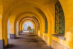 Arcades του ιστορικού Δημαρχείου Στοκ Εικόνα