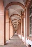 Arcades του κάστρου κατοικιών σε Rastatt Στοκ φωτογραφία με δικαίωμα ελεύθερης χρήσης