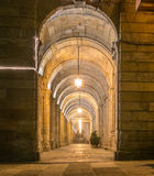 Arcades του Σαντιάγο Δημαρχείο Στοκ φωτογραφία με δικαίωμα ελεύθερης χρήσης