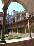 Arcades 3. Image 3 from Arcades of Italy series. This is from Certosa di Pavia near Milan Stock Photo
