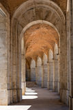 Arcades in Aranjuez, Madrid Royalty Free Stock Photo