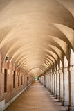 Arcades in Aranjuez, Madrid Royalty Free Stock Photos