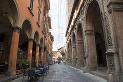 Arcades Bologna royalty-vrije stock afbeeldingen