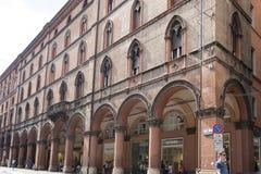 Arcades Bologna royalty-vrije stock afbeelding