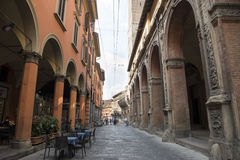 Arcades Bologna Royalty Free Stock Images