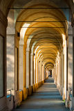 Arcades in Bologna. Arcades in the beautiful city of Bologna Royalty Free Stock Images