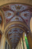 Arcades of Bologna Emilia Romagna Italy.  Royalty Free Stock Photography