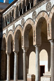 Arcades of the cathedral Stock Photo