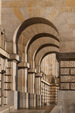 Arcades chez le Reichstag (Parlement), Berlin Images stock