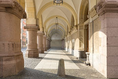 Arcades in Goerlitz, Germany. Historic Arcades in the town of Goerlitz, Germany Stock Image