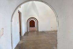Arcades intérieures au Porto Rico Photo libre de droits
