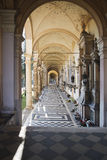 Arcades at the Mirogoj cemetery in Zagreb, Croatia Stock Photography