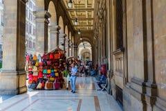 Arcades près de Piazza Repubblica à Florence, Italie Photo libre de droits
