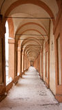 Arcades's st luka. Arcaded's st. luka of bologna, emilia romagna Stock Photos