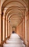 Arcades's St. luke. Arcades's St Luke, bologna, emilia romagna Royalty Free Stock Photo