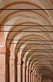 Arcades's St Luke. Bologna, emilia romagna Royalty Free Stock Image