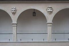arcades skala pieskowa προαυλίων κάστρων Στοκ φωτογραφίες με δικαίωμα ελεύθερης χρήσης