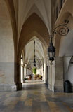 Arcades of Sukiennice in Krakow, Poland Royalty Free Stock Photo
