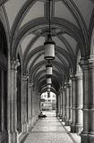 Arcades at the Vienna Opera House Stock Photography