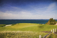 Arcadia Bluffs Golf Club Stock Image