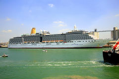 The Arcadia cruise liner Royalty Free Stock Image