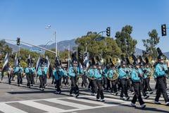Arcadia Festival of Bands. Arcadia, NOV 19: The famous Arcadia Festival of Bands parade on NOV 19, 2017 at Arcadia, Los Angeles County, California, United States Stock Image