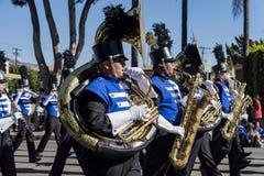 Arcadia Festival of Bands. Arcadia, NOV 19: The famous Arcadia Festival of Bands parade on NOV 19, 2017 at Arcadia, Los Angeles County, California, United States Stock Photos