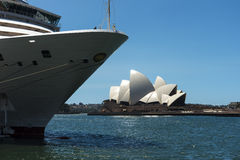 Arcadia and Opera house Stock Photography