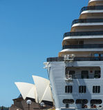 Arcadia and Opera house Royalty Free Stock Photography