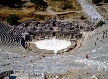 Arcadian väg i Ephesus, Turkiet arkivfoton