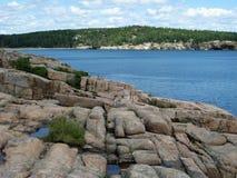 Arcadie stationnement national, Maine Images libres de droits
