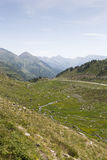 Arcalis. Mountain view in the area of Arcalis in Andorra Royalty Free Stock Photo