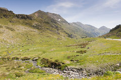 Arcalis. In the municipality of Ordino, Andorra Royalty Free Stock Image