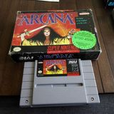 Arcana - Snes-spel Stock Afbeeldingen