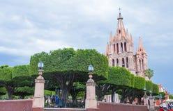 Arcangel du parroquia De San Miguel de La photos libres de droits