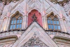 Arcangel för Laparroquiade san miguel Arkivfoto