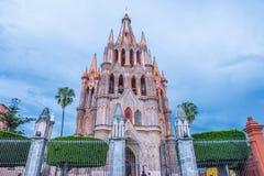 Arcangel för Laparroquiade san miguel Royaltyfria Bilder