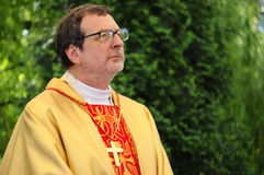 Arcebispo Claudio Gugerotti Fotos de Stock Royalty Free