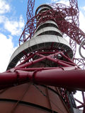 Arcelor Mittal Orbit observation Tower Royalty Free Stock Photo