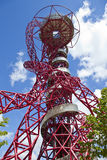 ArcelorMittal Observation Tower. The ArcelorMittal observation tower located in the Queen Elizabeth Olympic Park, London Stock Images