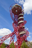 ArcelorMittal Observation Tower. The ArcelorMittal observation tower located in the Queen Elizabeth Olympic Park, London Stock Image